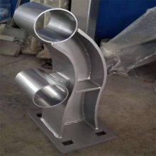 金裕 不锈钢河道安全栏杆 304不锈钢护栏立柱 免保养河道防护栏杆