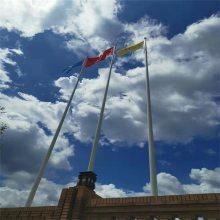 新云 国旗杆生产厂家制造电动旗杆,手动不锈钢锥形旗杆