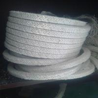 供应陶瓷纤维盘根耐高温密封条硅酸铝窑炉门耐火填料烤箱圆编绳