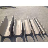 恒瑞U型树脂混凝土线性排水沟不锈钢缝隙式盖板成品排水沟