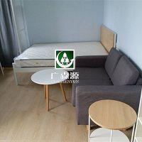 深圳公寓家具定做:15994754251简约板式公寓家具定做生产厂家