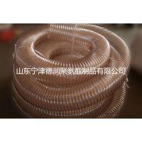 厂家供应钢丝软管,聚氨酯软管,80*0.6mm,弯曲好,适合摆动位置通风排气管