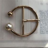 合金珍珠腰带扣金属日字扣皮带扣头