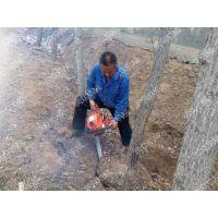一台链条式挖树机多少钱 无死角铲头挖树机 各种地形起树机