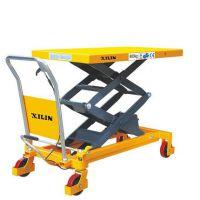 西林SPS800手动平台车物流平台搬运车 双剪式