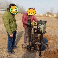 手推式好用汽油的挖坑机 启航牌沅陵植树挖坑机 单人便携式树坑机