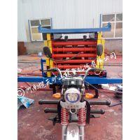 河南揽天矿山生产销售半自行式500-12m液压升降平台,升降机