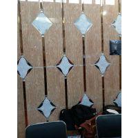 焕彩拼镜 陕西延安来图定做2016年爆款理石纹玻璃 背景墙玻璃