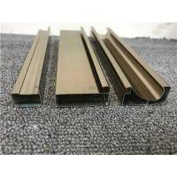 南北旺橱柜晶钢门型材 橱柜门板铝材材料 晶钢门铝材批发厂家 铝合金