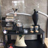 天然气咖啡烘焙 半直火半热风咖啡烘焙设备 南阳东亿提供各种型号机器
