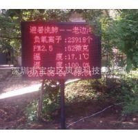 广东公园负离子环境监测系统 OSEN-FLZ 风景区负离子监测设备