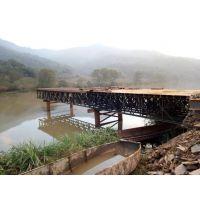 湖南优质321型贝雷片厂家销售贝雷桥租赁施工拆人行天桥除维护栈桥采购
