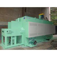 重庆洪金连续式热处理调质生产线/托辊式网带炉