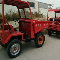 矿山优质工程翻斗车 转弯直径小柴油运输车 种树配套实用翻斗车型号