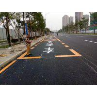 江西九江专业停车位画线热熔标线马路道路画线斑马线画线厂家