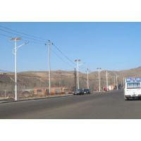 龙江照明供应黔南都匀市道路亮化7米40瓦锂电太阳能led路灯