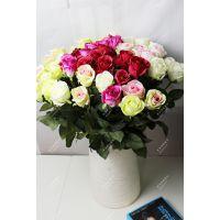 新款创意花艺软装插花摆件家居假花客厅餐桌绢花装饰花
