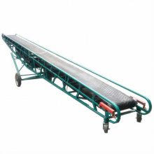 650mm带宽V型沙子输送机 太原市物流行业用装卸车皮带机
