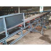 屠宰场废料装卸用升降传送机 PVC不打滑运料皮带输送机06