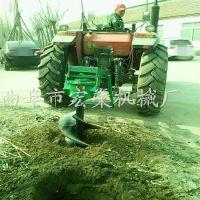 植树挖坑机 新型汽油打孔机车载式果园挖窝机