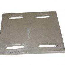 深圳坪山定制热镀锌钢板或是幕墙埋板200*200*8mm