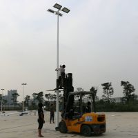 广东篮球场灯杆供应商,广州球场灯柱批发,照明灯光一起配备