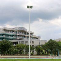 龙岩市学校足球场灯柱 12米高灯柱壁厚是多少 灯柱口径可定做