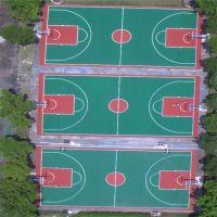 运动场地面施工丙烯酸 彩色篮球场翻新 球场画线永不掉色快来定购吧