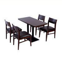 众美德家具餐桌椅批发实木餐桌价格主题餐厅家具