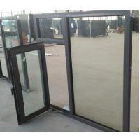 河北宏安厂家直销凤铝断桥铝合金防火窗,钢化玻璃乙级防火窗