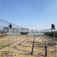 现货供应热镀锌钢管4分6分一寸 农用大棚骨架 新型蔬菜大棚管