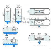 气液分离器高效叶片式气液分离油气分离除雾器除沫器叶片汽水捕集器vane type separator