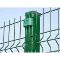 山林带钢边丝护栏网 压弯护栏网 三角折弯隔离网