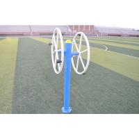 厂家直销户外健身器材单柱型双人位大转轮作用 户外健身器材 剑桥 铁