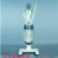 RV-605型真空反应器(5L) 鑫骉平盖式玻璃反应釜