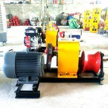 长沙市快速绞磨机牵引力大高速绞磨绞盘机质量上乘;维修方便柴油张力机, 洪涛