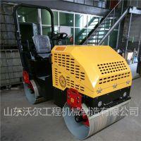 一米轮宽双钢轮压路机全液压2吨驾驶式柴油压路机车间现货