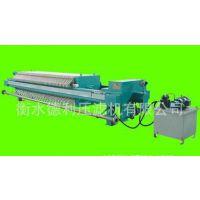 造纸厂污泥处理 厢式压滤机 优质河北衡水德利压滤机厂家直销