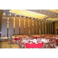 西安芯贵125型超高型宴会厅多功能移动隔音墙专业定制