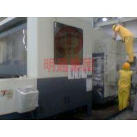 广州某公司日本进口的数控机床等设备掏柜搬迁吊装