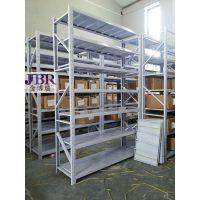 轻型货架2×0.5×2米/4层245元一组郑州金博瑞货架厂大量现货需要咨询