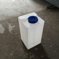 河北方形80L塑料加药箱黄色120L方形药剂桶 水处理专用 三合盛厂家直销