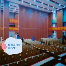 深圳移动隔断墙酒店隔音折叠门伸缩可推拉屏风学校会议室活动隔断