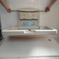 机场景区卫生间婴儿安全护理台 宝宝换尿布台 婴儿床抗菌 便捷 舒适