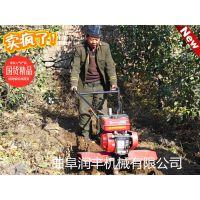 新型40厘米开沟器 手扶式果园开沟机视频展示 可用于果树施肥浇水润丰