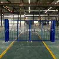 工厂分区隔断网 厂房设备隔离网 楼层隔离防护网