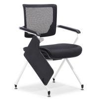 网布多功能椅 众晟培训椅子 学习洽谈会议椅定制