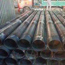 打井钢管325降水滤水管 实管273打井过滤材料
