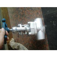 不锈钢螺纹截止阀 J11Y-160P 螺纹不锈钢截止阀 永嘉精拓阀门