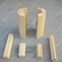 热销产品强森保冷红松木 沥青漆红松木块 保冷绝热硬木块厂家